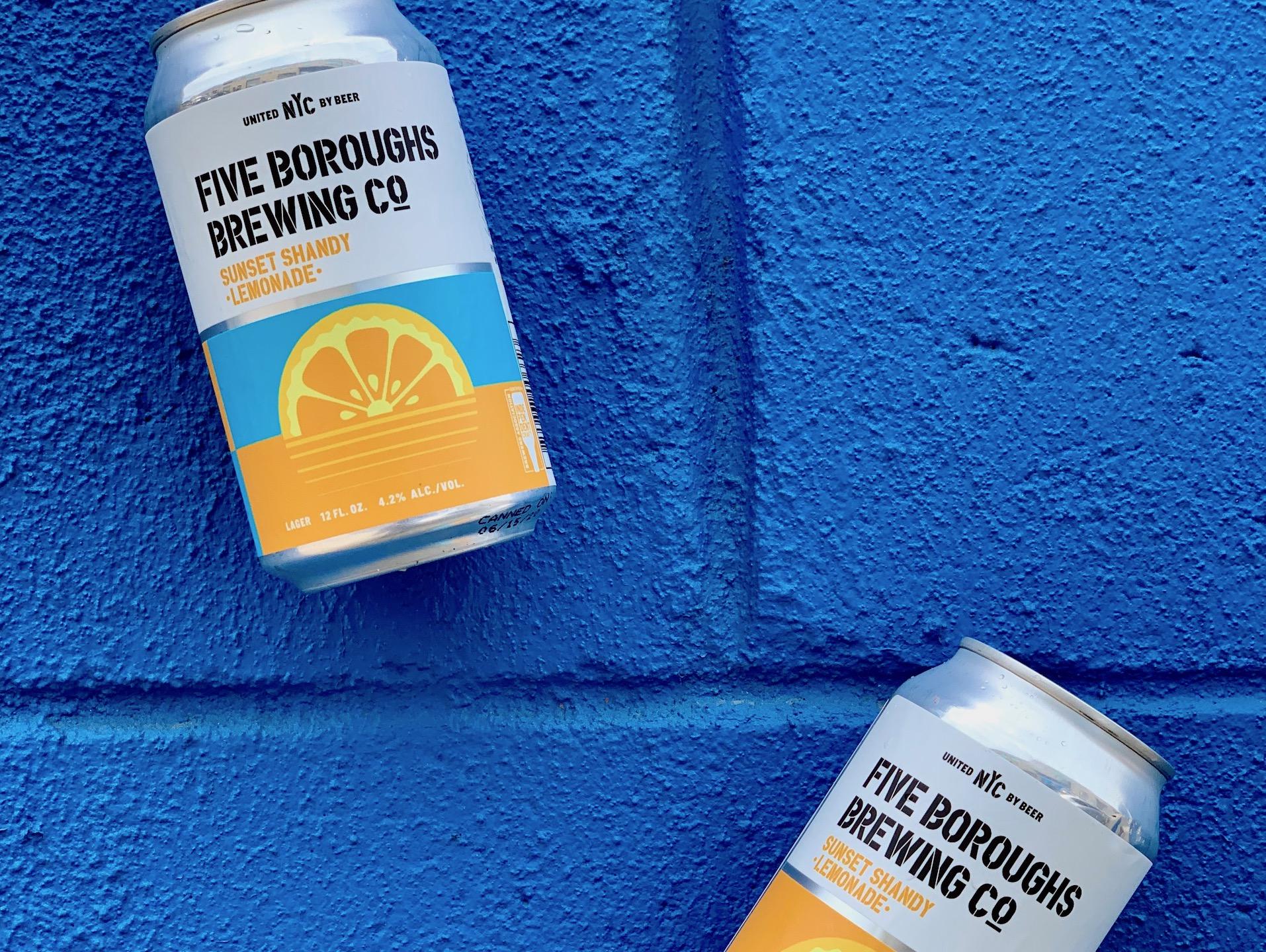 Beer Bulletin: Sunset Shandy Lemonade